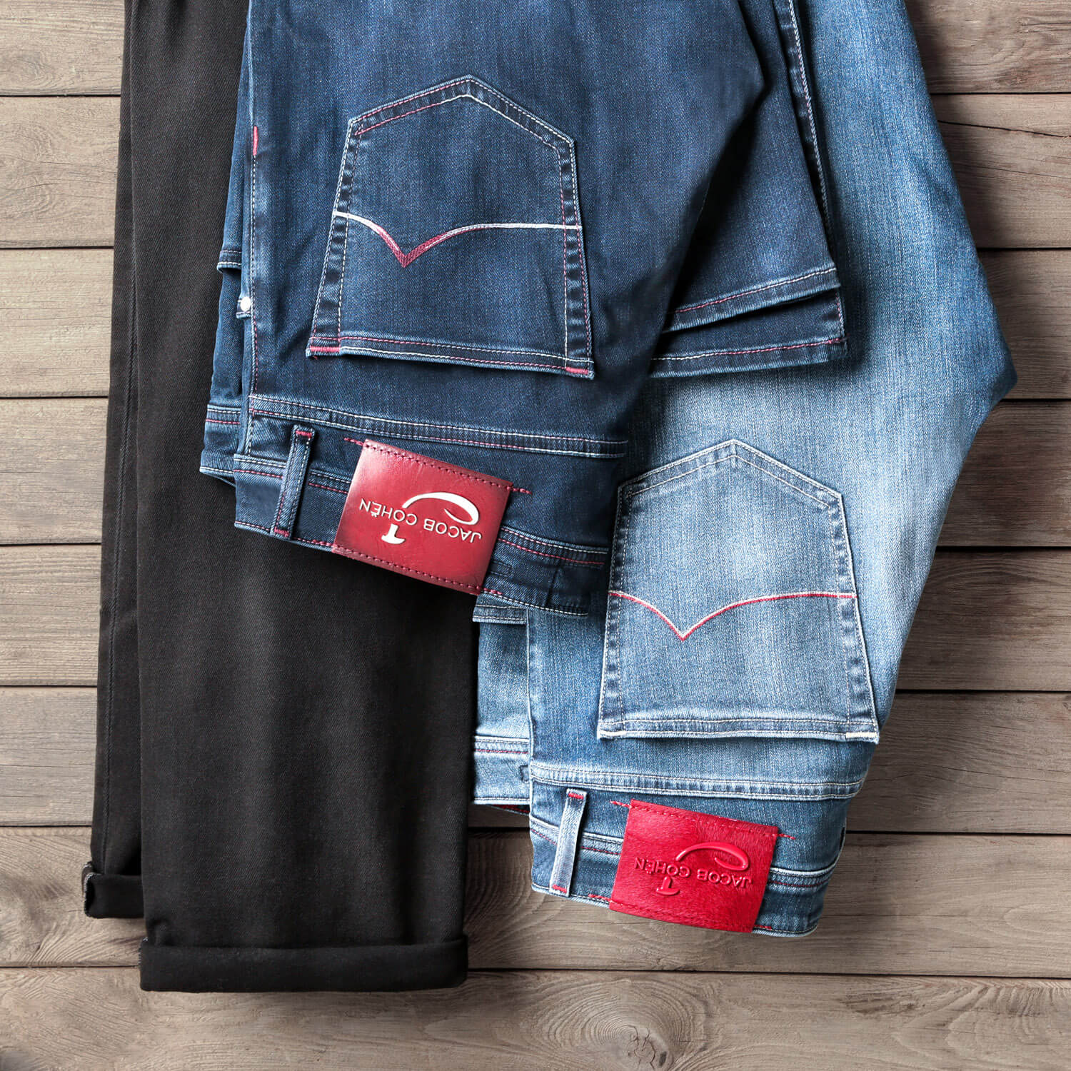 Jacob_Cohen_Flat_Lay_Jeans_Product_Photography